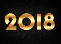 tapeta-zloty-napis-2018-na-ciemnym-tle